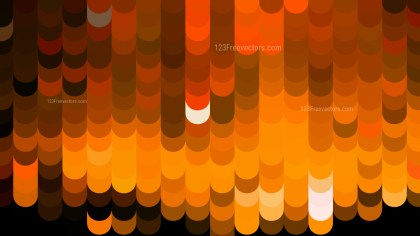 Abstract Orange and Black Geometric Shapes Background Vector