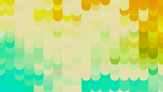 Abstract Orange and Green Geometric Shapes Background Vector Graphic