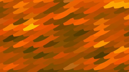 Abstract Orange and Green Geometric Shapes Background Design