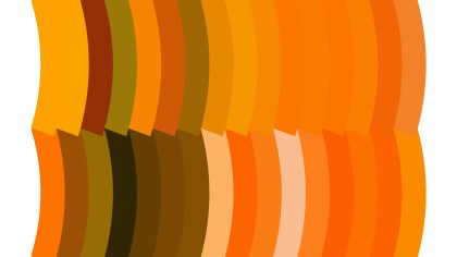 Orange and White Geometric Shapes Background