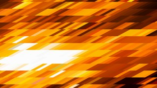 Orange and White Geometric Shapes Background Design