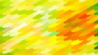 Orange and Yellow Geometric Shapes Background Illustrator