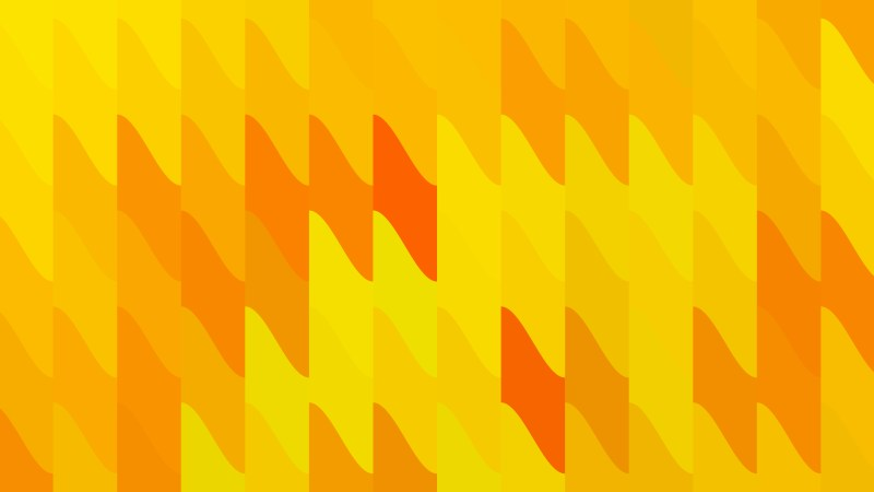Orange and Yellow Geometric Shapes Background