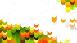Abstract Orange White and Green Geometric Shapes Background