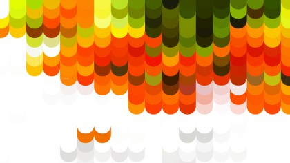 Abstract Orange White and Green Geometric Shapes Background Vector