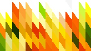 Abstract Orange White and Green Geometric Shapes Background Graphic