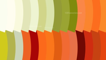 Orange White and Green Geometric Shapes Background Design