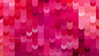Pink Geometric Shapes Background Graphic