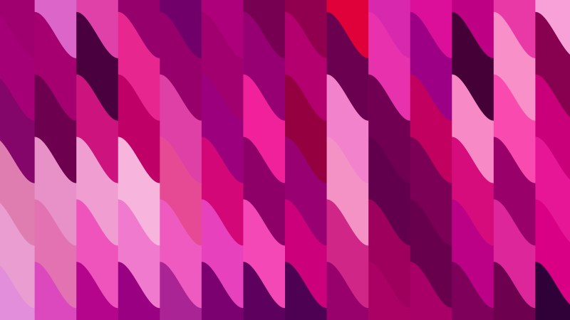 Pink Geometric Shapes Background Vector