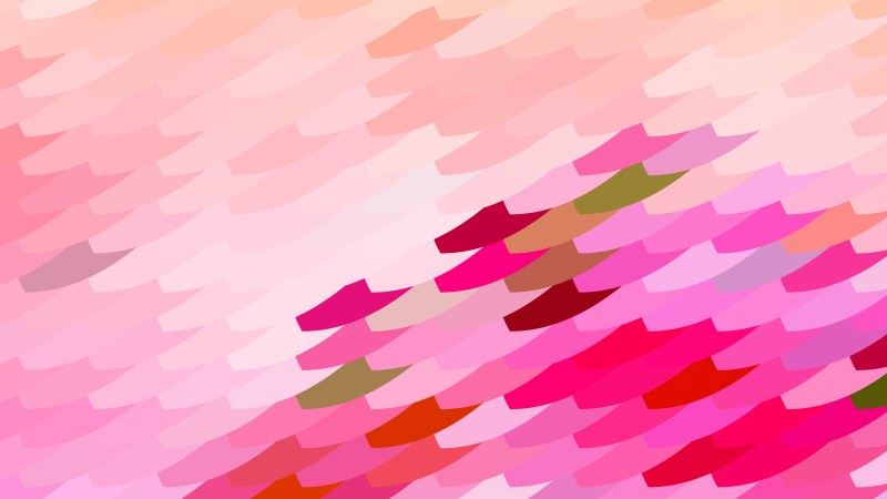 Abstract Pink Geometric Shapes Background Design
