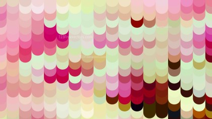 Abstract Pink and Beige Geometric Shapes Background