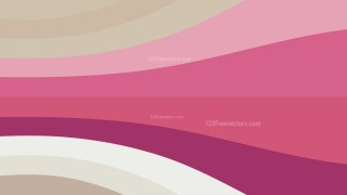 Abstract Pink and Beige Geometric Shapes Background Vector Graphic