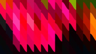 Abstract Pink and Black Geometric Shapes Background