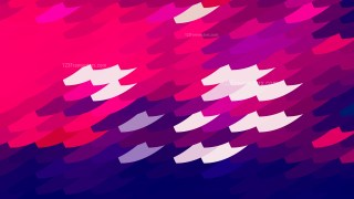Abstract Pink and Blue Geometric Shapes Background
