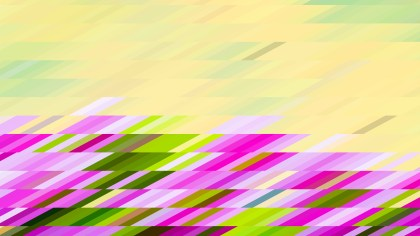 Abstract Pink and Green Geometric Shapes Background