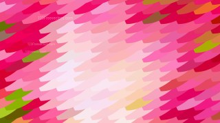 Abstract Pink and Green Geometric Shapes Background Illustrator