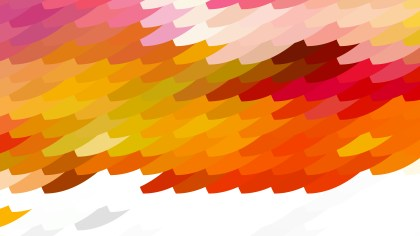 Pink and Orange Geometric Shapes Background Graphic