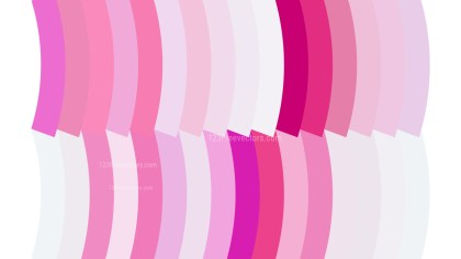 Pink and White Geometric Shapes Background Vector Graphic