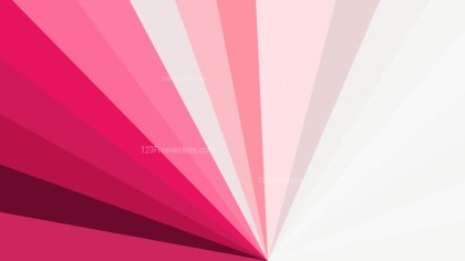 Pink and White Geometric Shapes Background