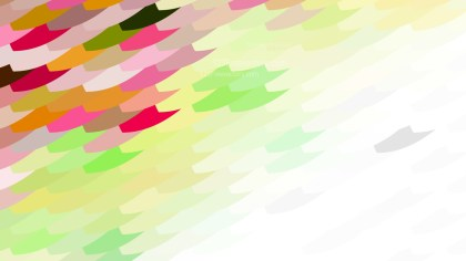 Abstract Pink Green and White Geometric Shapes Background Graphic