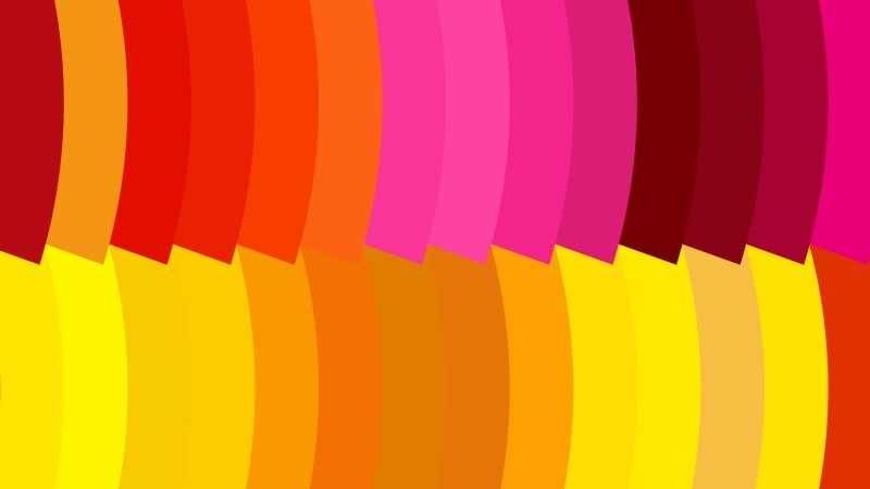 Pink Red and Yellow Geometric Shapes Background Vector