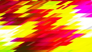 Abstract Pink Red and Yellow Geometric Shapes Background