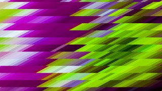 Abstract Purple and Green Geometric Shapes Background