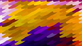 Purple and Orange Geometric Shapes Background