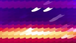 Purple and Orange Geometric Shapes Background Illustrator