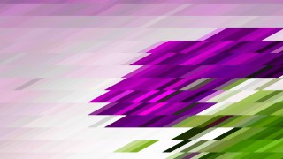 Purple Green and White Geometric Shapes Background