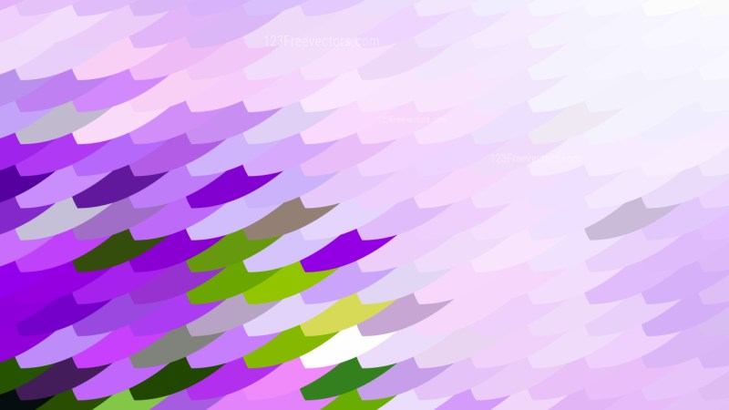 Abstract Purple Green and White Geometric Shapes Background Graphic