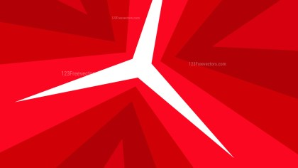 Abstract Red Geometric Shapes Background