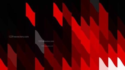 Abstract Red and Black Geometric Shapes Background