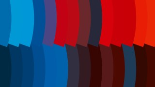 Abstract Red and Blue Geometric Shapes Background Design