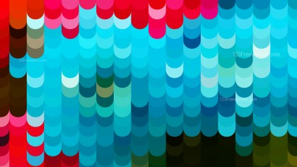Abstract Red and Blue Geometric Shapes Background Vector Graphic