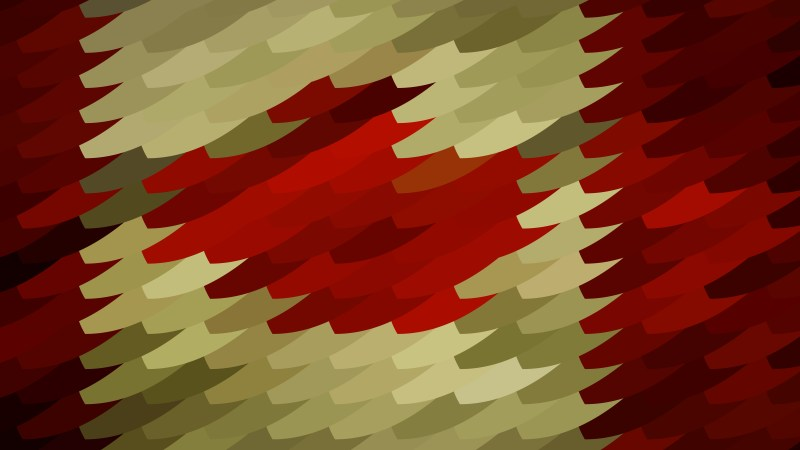 Red and Gold Geometric Shapes Background Graphic