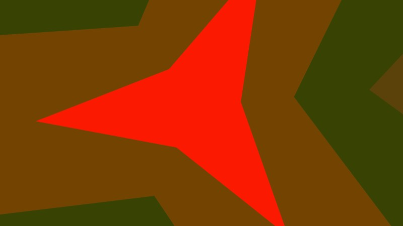 Abstract Red and Green Geometric Shapes Background Vector