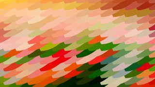 Abstract Red and Green Geometric Shapes Background