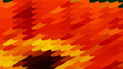 Abstract Red and Orange Geometric Shapes Background