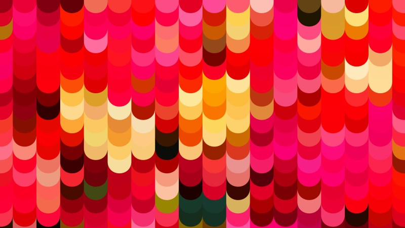 Red and Orange Geometric Shapes Background