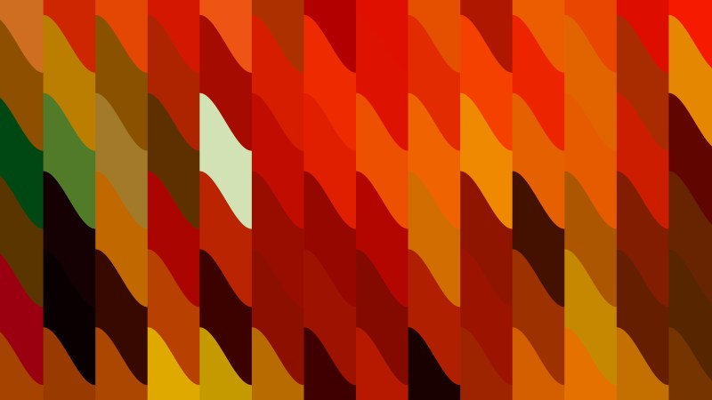 Red and Orange Geometric Shapes Background Design