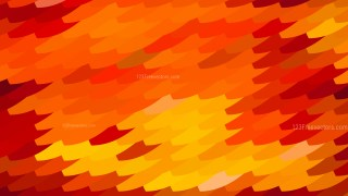 Abstract Red and Orange Geometric Shapes Background Vector Graphic