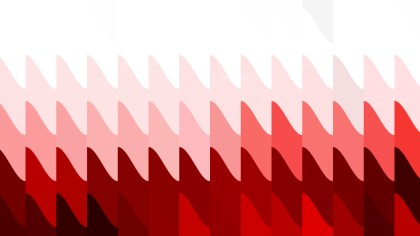 Red and White Geometric Shapes Background Vector Graphic