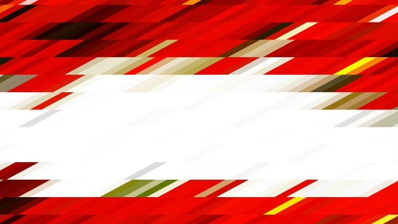 Abstract Red and White Geometric Shapes Background Illustrator