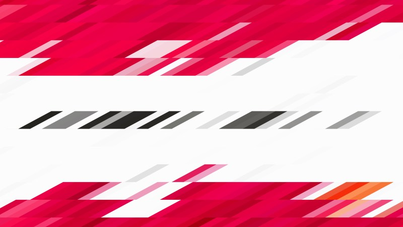 Red and White Geometric Shapes Background Vector