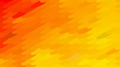 Red and Yellow Geometric Shapes Background Vector