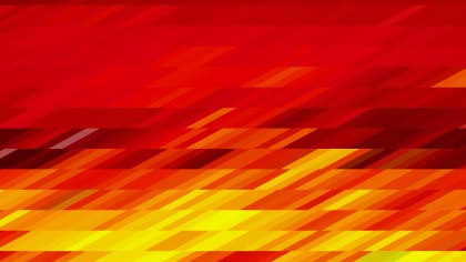 Abstract Red and Yellow Geometric Shapes Background Vector