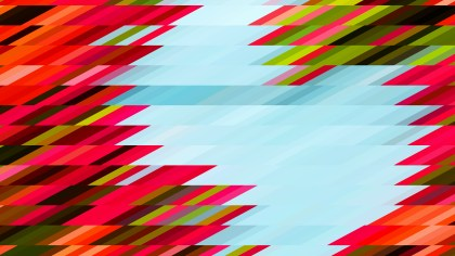 Red Green and Blue Geometric Shapes Background
