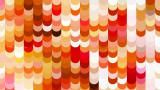 Abstract Red Orange and White Geometric Shapes Background Design