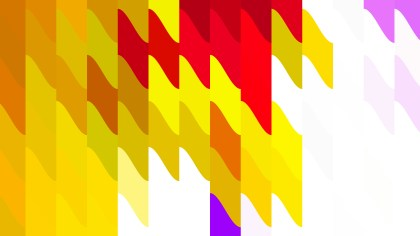 Red White and Yellow Geometric Shapes Background Vector Graphic